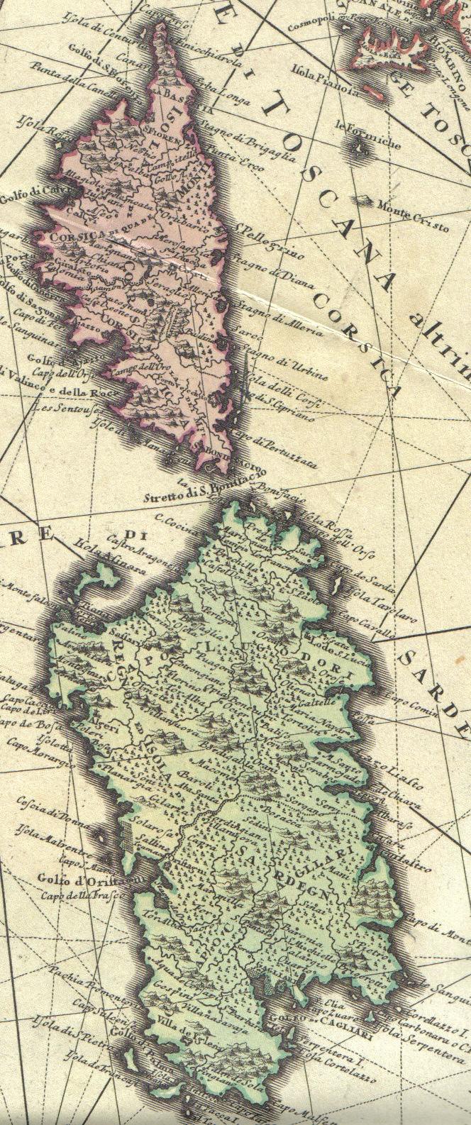 Sardegna corsica e arc tosc